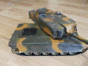 Uzaktan Kumandalı Tank Yapımı